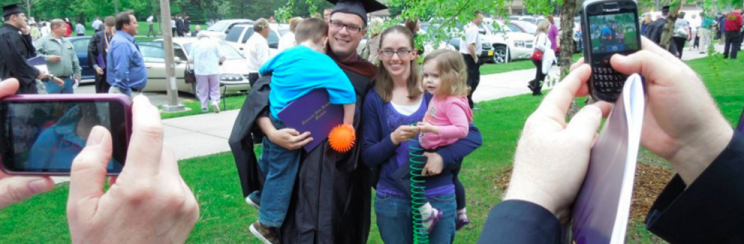 HOW TO SURVIVE COLLEGE WHILE MARRIED WITH CHILDREN