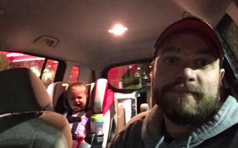 Stuck In The Van With My Screaming Toddler