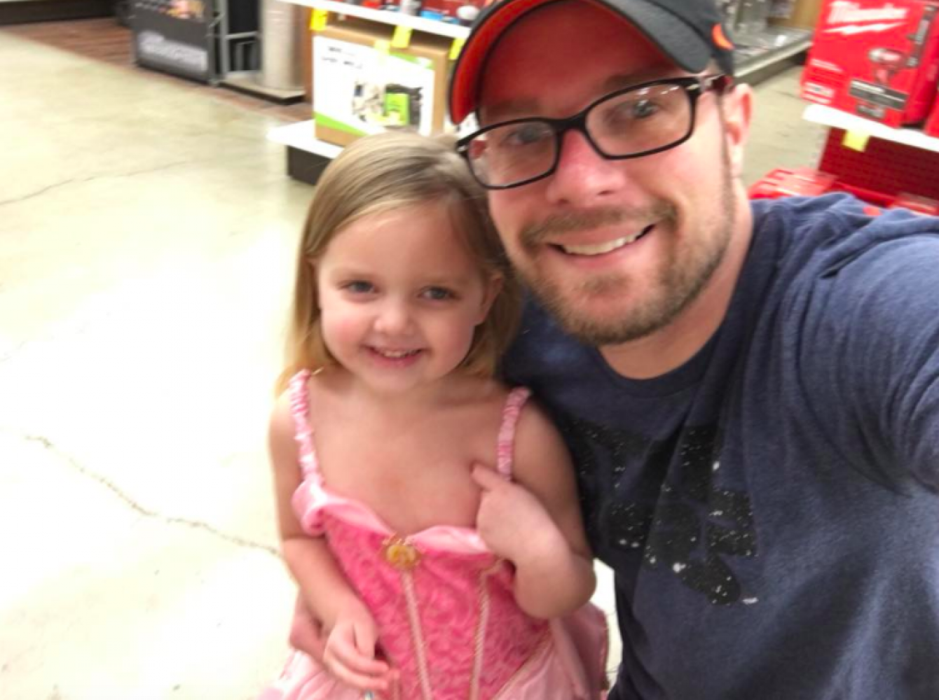 Let Them Dress Like a Princess At The Hardware Store